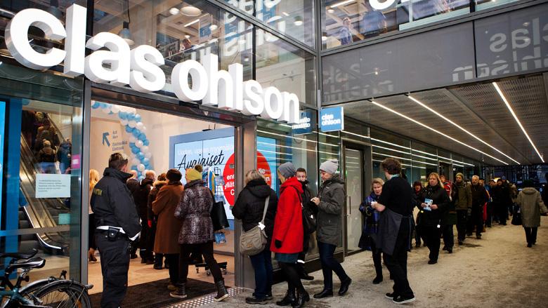 CLAS OHLSON – Store visit